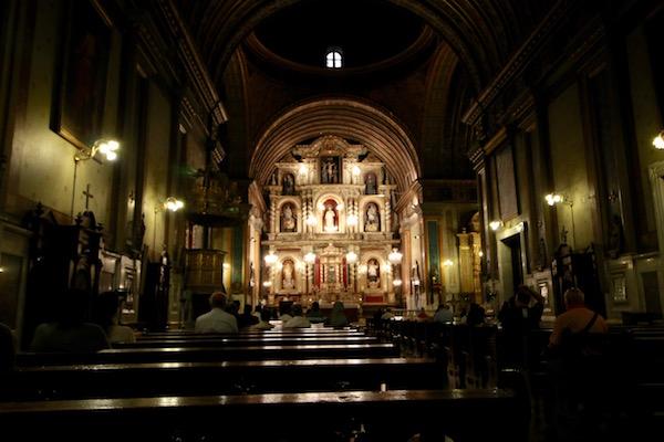 Interior Iglesia Catedral
