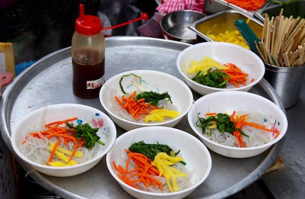 Comida Puestos Callejeros Busan