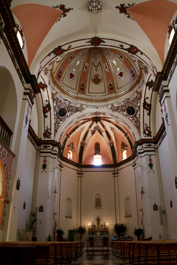 Interior iglesia Convento Agustinos