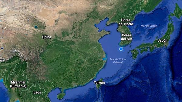 Mapa Isla Jeju