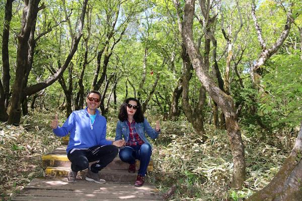 Sendero Parque Nacional Monte Halla