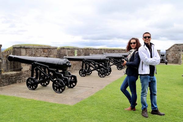 Cañones Castillo Stirling