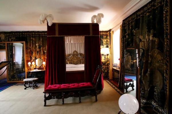 Dormitorio castillo de Cawdor