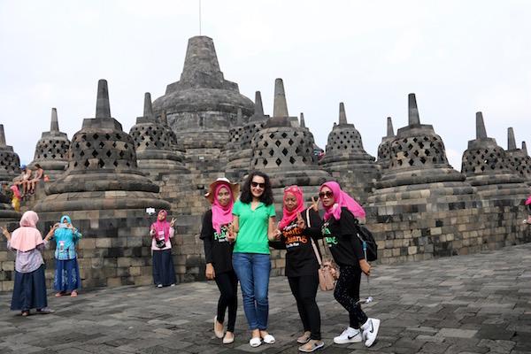 Lugareñas Borobudur