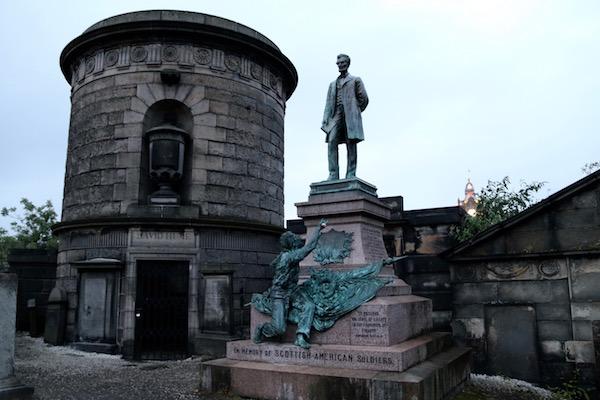 Monumento caídos guerra civil Americana