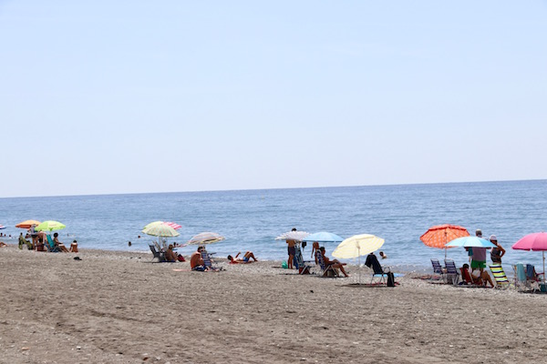 Playa Rábita.