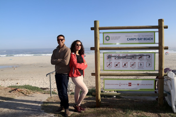 Playa Camps Bay.