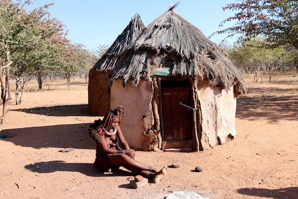 Viviendas Himba.