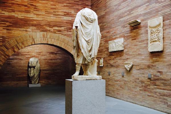 Esculturas Museo Nacional de Arte Romano
