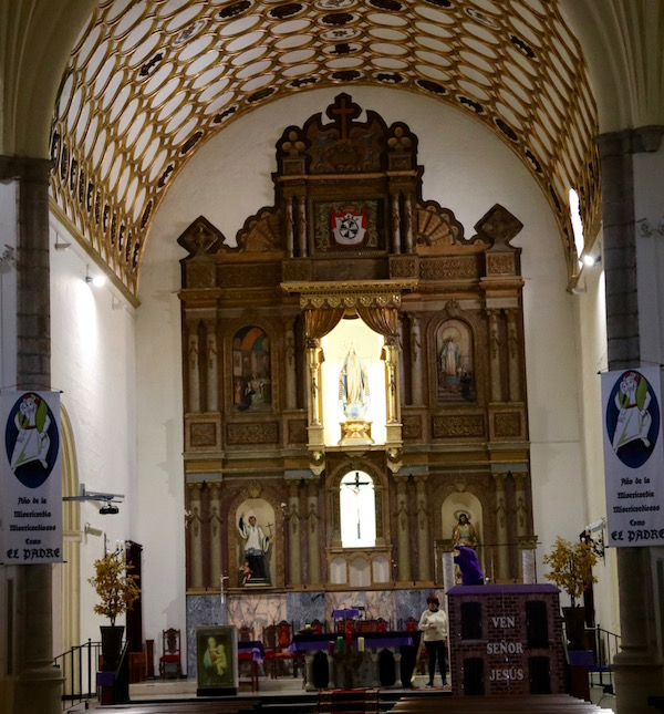 Altar Iglesia Santo Domingo