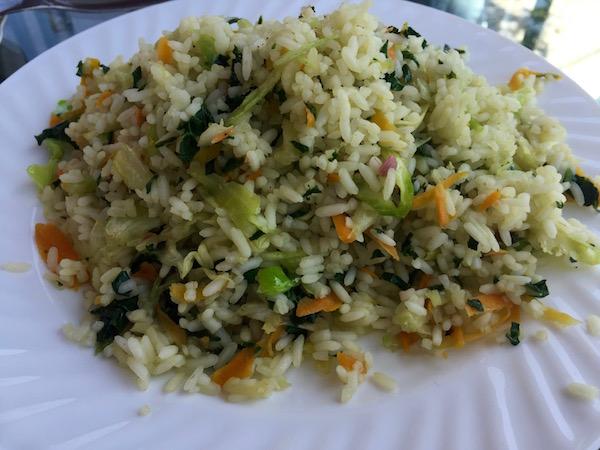Arroz verduras