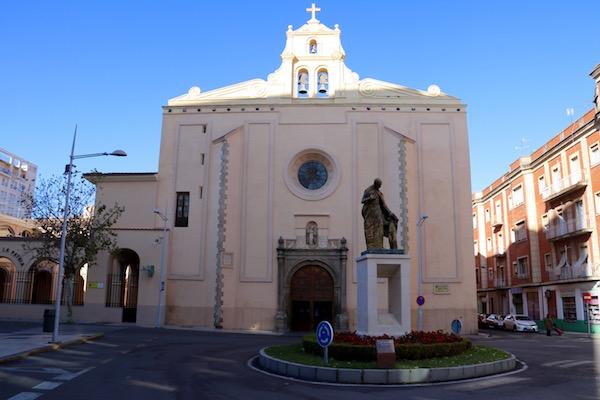 Fachada Iglesia Santo Domingo