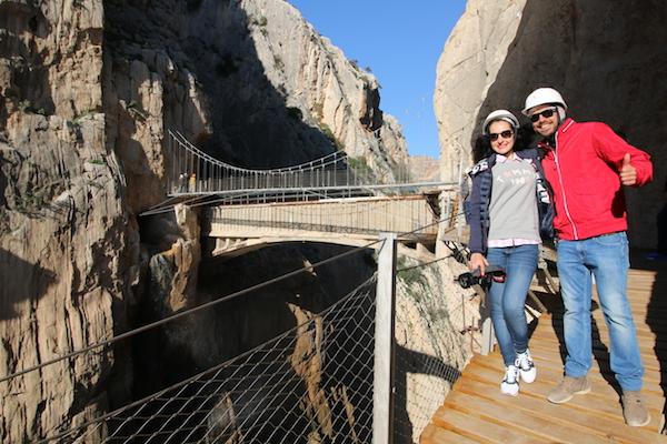 Vistas Puente Colgante
