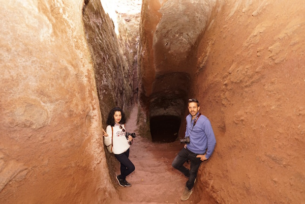 Acceso túneles