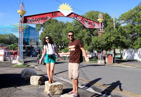 Bienvenidos San John's