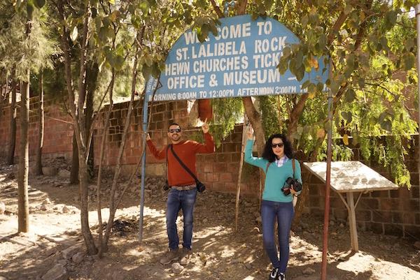 Entrada recinto Lalibela