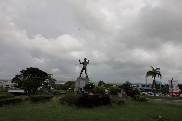 Escultura Emancipaciónde Bussa