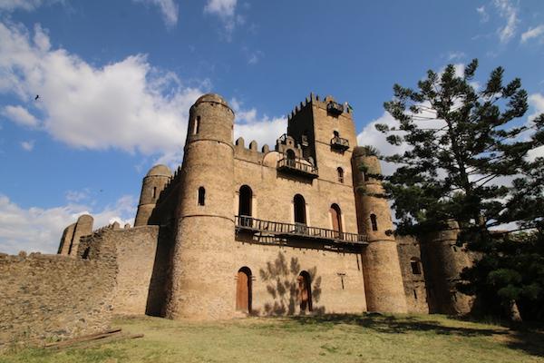 Fachada castillo de Fasilidas
