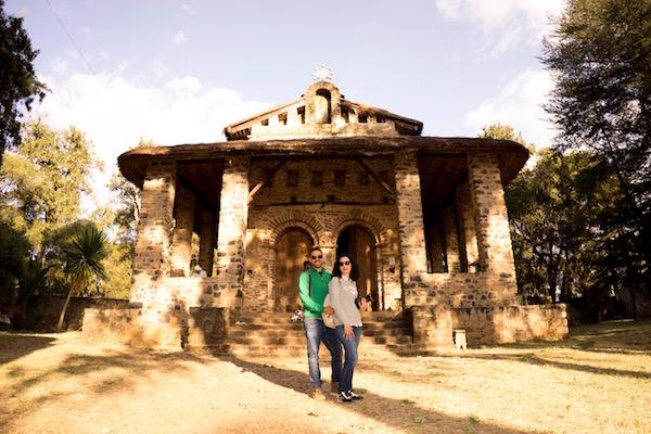 Fachada iglesia Debre Birhan Selassie