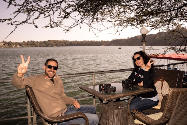 Vistas lago Babogaya