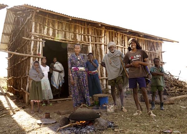 Viviendas de etíopes