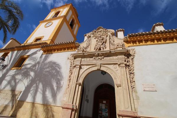 Fachada Iglesia San Cristóbal