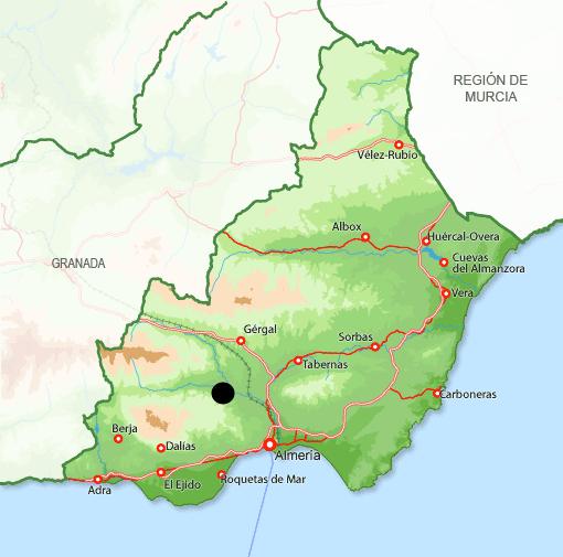 Mapa Terque