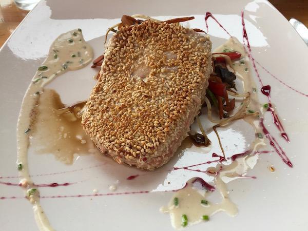 Atún, restaurante Oda Pacífico Mirador Culinario.