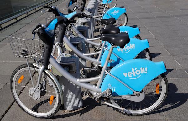 Bicicletas Velóh.
