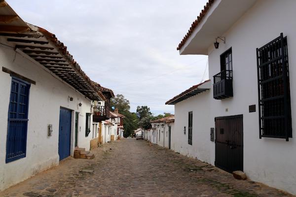 Calles de Villa de Leyva.