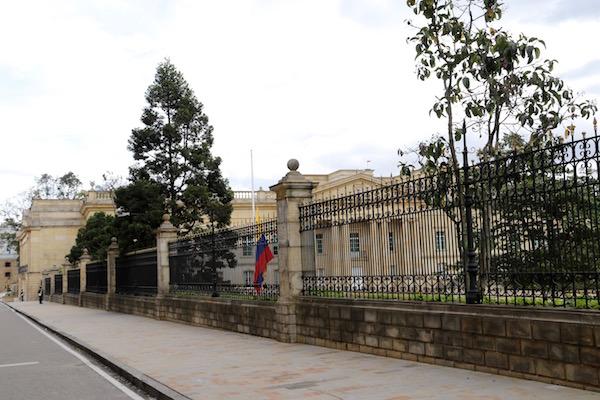 Casa de Nariño, Bogotá.