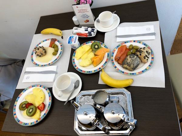 Desayuno 2, Hotel Simoncini.