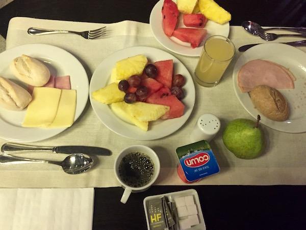 Desayuno, Hotel Fundador, Chile.