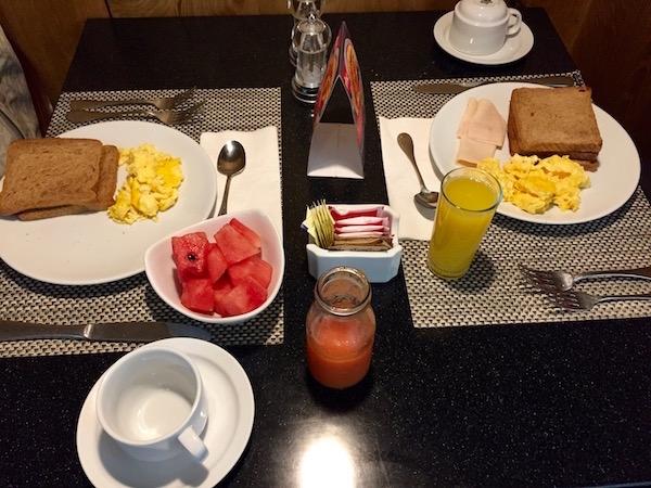 Desayuno Hotel Radisson