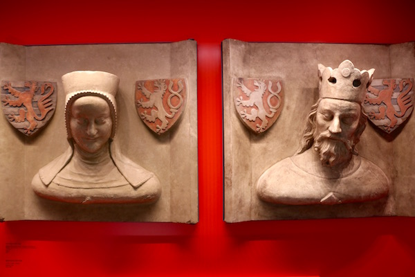 Esculturas Museo Nacional de Historia y de Arte.