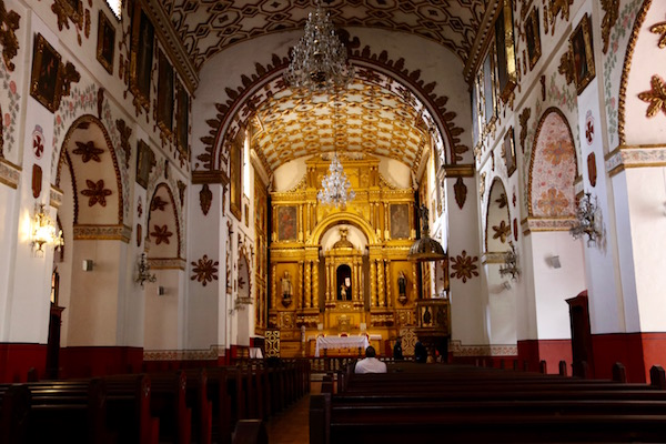 Interior Templo de San Agustín.