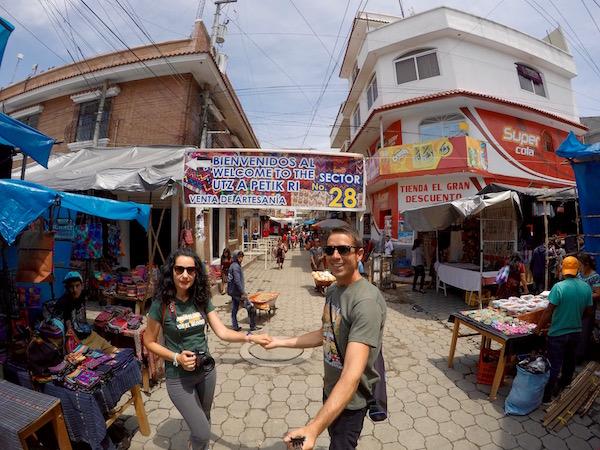 Mercado de Chichicastenango.