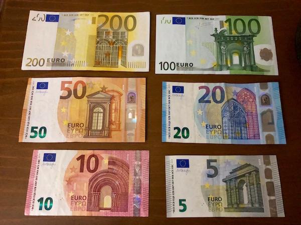 Moneda Euros.