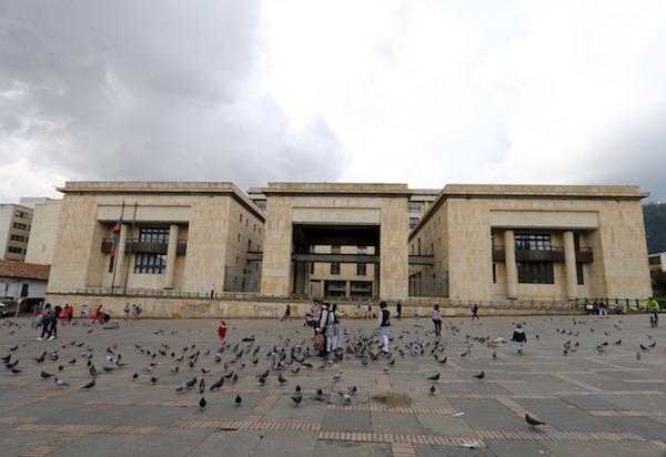 Palacio de Justicia, Bogotá.