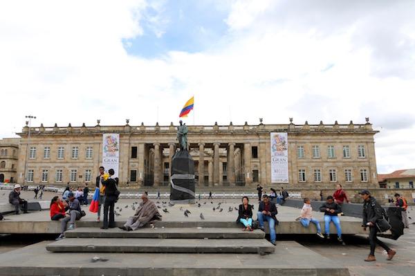 Plaza Simón Bolívar.