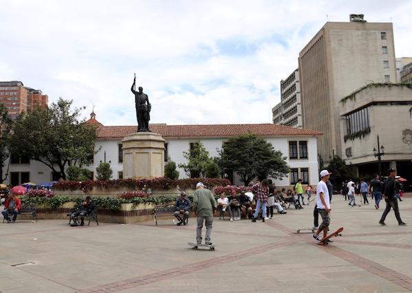 Plazoleta del Rosario.