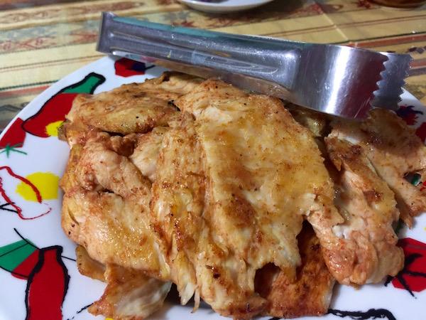 Pollo plancha.