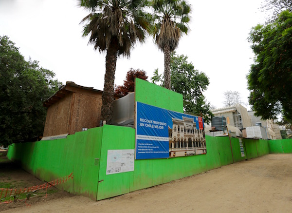 Reconstrucción palacio Vergara.