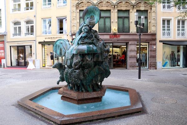 Escultura deHämmelsmarsch.