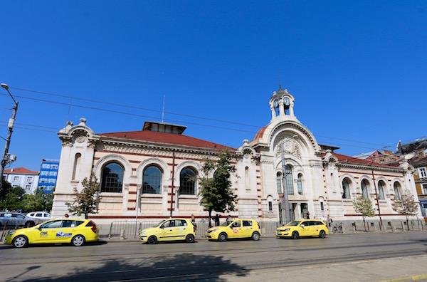 Fachada Mercado Central Hali.