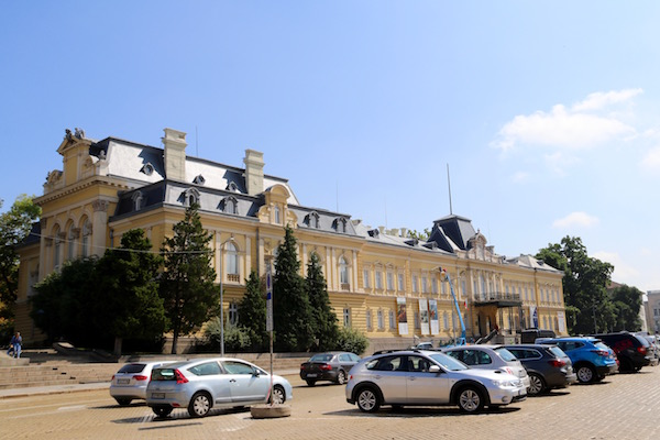 Fachada Palacio Real.