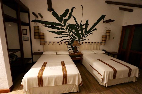 Habitación hotel Villa Maya.