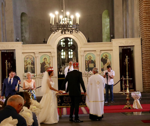 Interior Iglesia Sveta Sofía.
