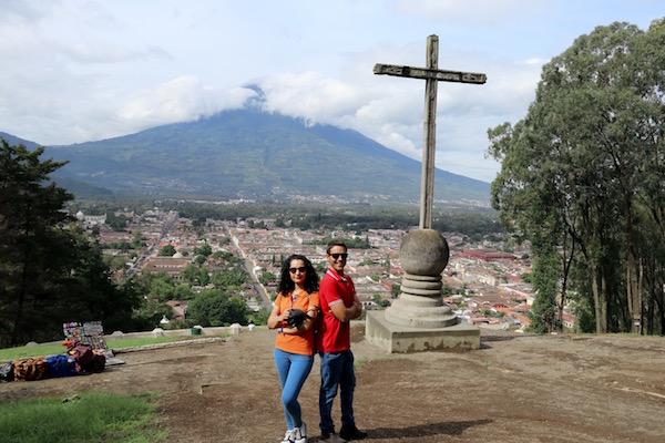 Mirador Cerro de la Cruz, Antigua.