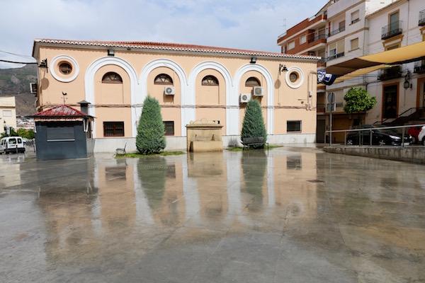 Plaza Joaquín Costa.